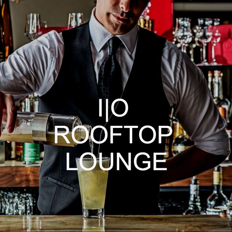 I|O Rooftop Lounge Craft Cocktail
