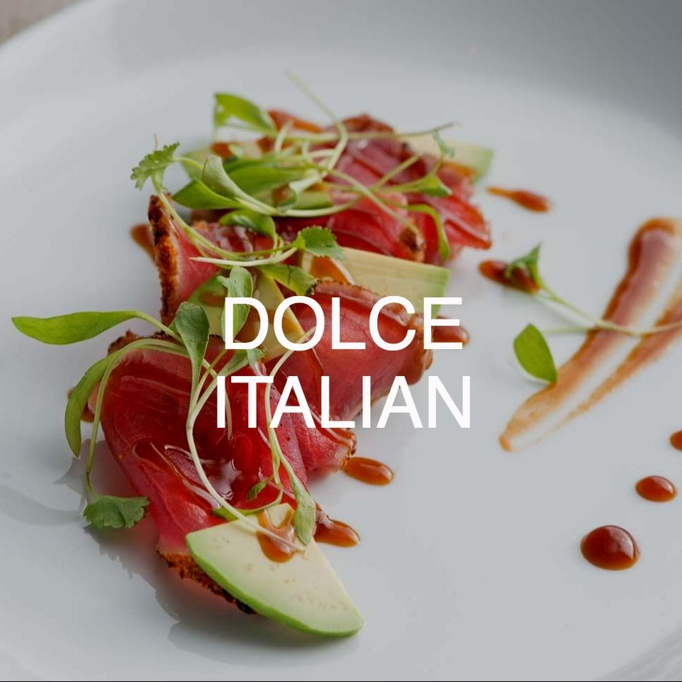 Appetizer at Downtown Chicago's Dolce Italian