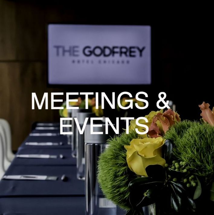 Chicago Meeting Room at The Godfrey